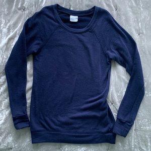 Full Tilt Navy Blue Crew Neck Sweater